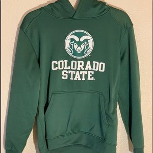 NCAA Colorado State Football Sweatshirt, youth L